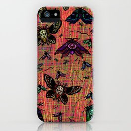 colour bugs iPhone Case