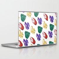 minerals Laptop & iPad Skins featuring Minerals by Kristine Sarley Art