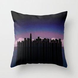 New York Dreaming Throw Pillow