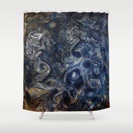 Jupiter Blues Shower Curtain