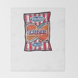 Hawkins Cheezies Throw Blanket