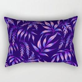 Brooklyn Forest - Purple Rectangular Pillow