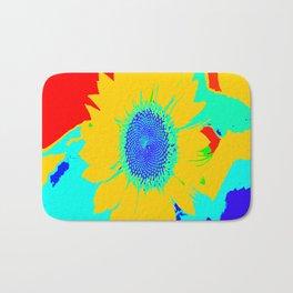 Fun Sunflower #decor #society6 Bath Mat