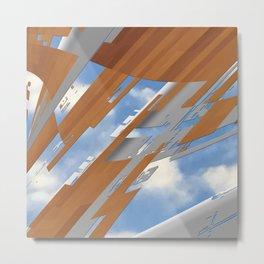 pixels in the sky Metal Print
