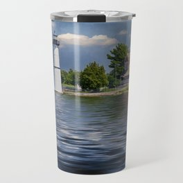 Rock Island Light - Clayton, NY Travel Mug