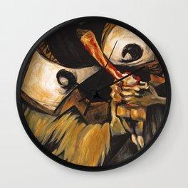 Goya Saturn caricature Wall Clock