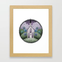 I Promise To Be Good Framed Art Print