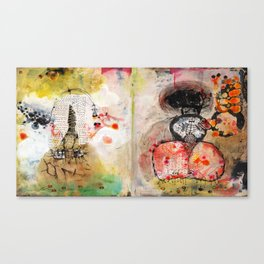 Stitches Canvas Print
