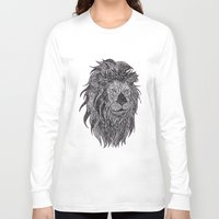 leo Long Sleeve T-shirts featuring LEO by silb_ck