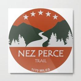 Nez Perce Trail Metal Print