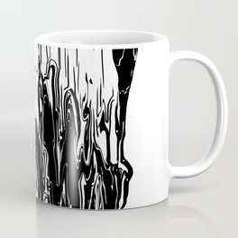 Skull (Distortion) Coffee Mug