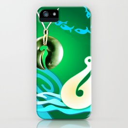 Go Fishing - Hi Ika iPhone Case