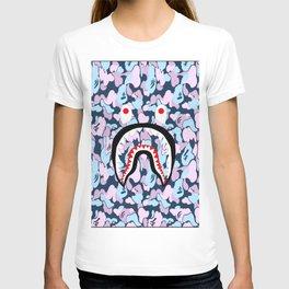 Bape Shark Flower T-shirt
