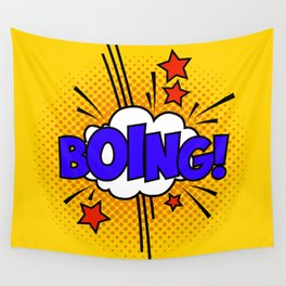 Boing ! Wall Tapestry