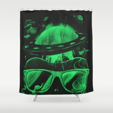 Hipster Invasion Shower Curtain