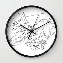 Caress & Crush Wall Clock