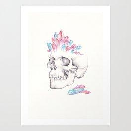 Multifaceted Thinker Art Print