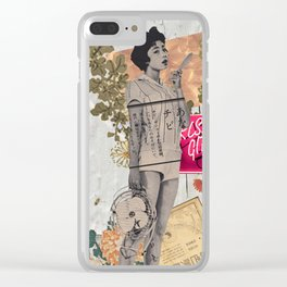 Summer Letters to My Lover Clear iPhone Case