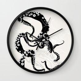 Octopus Lines Wall Clock