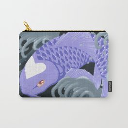 Love Koi Pastel Purple Carry-All Pouch