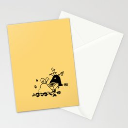 Go game - Egg yolk Stationery Cards