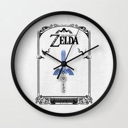 Zelda legend - Sword Wall Clock