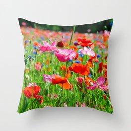Flower Photography by Carmen Meurer Throw Pillow