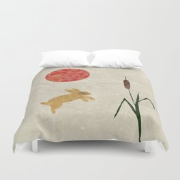 The Bunny Collection - Blood Moon Duvet Cover