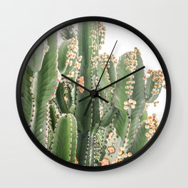 Giant Cactus Wall Clock