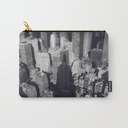 New York City Skyline, Empire State Building, fine art photo, nyc, wall decoration, home print, b&w Carry-All Pouch