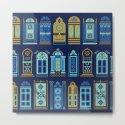 Moroccan Doors – Navy Palette by catcoq