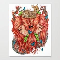 Jessa Canvas Print