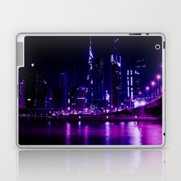 Cyberpunk Future City Laptop & iPad Skin