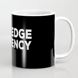 Knowledge Is Currency Coffee Mug