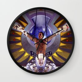 The Omega Expedition Wall Clock