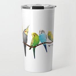Parakeets and Cockatiels Travel Mug