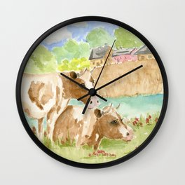 My Girls Wall Clock