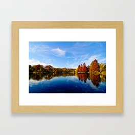 Autumn in NYC Framed Art Print