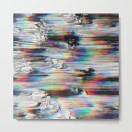 Spectral Wind Erosion Metal Print