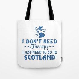 GO TO SCOTLAND Tote Bag