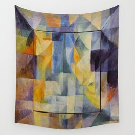 """Robert Delaunay """"Simultaneous Windows onto the City"""" (1st Part, 2nd Motif, 1st Replica) Wall Tapestry"""