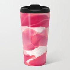 Rose Birth Metal Travel Mug