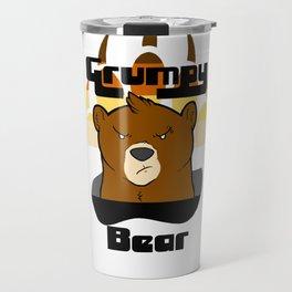 Grumpy Bear Travel Mug