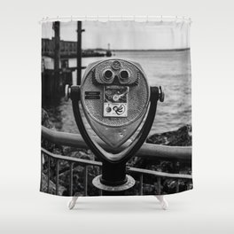 Brooklyn View Shower Curtain