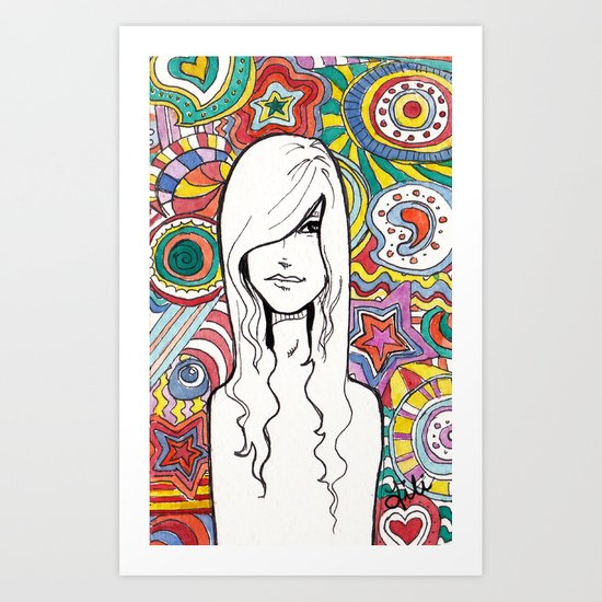 Colorful Mind Art Print