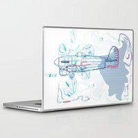 underwater Laptop & iPad Skins featuring Underwater by March Hunger
