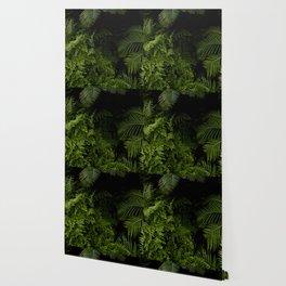 Tropical jungle. Wallpaper