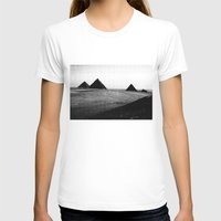egypt T-shirts featuring Egypt, Pyramids by DLS Design