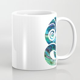 Tiki White Coffee Mug