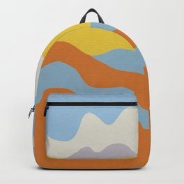 Over The Sunset Mountains V Backpack